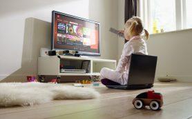 Просмотр телевизора ребенком имеет для его здоровья негативные последствия в будущем