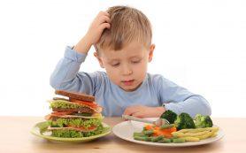 Изображения правильных продуктов влияют на выбор ребенка