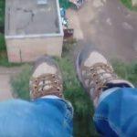 Дети залезли на крышу девятиэтажки в Смоленске