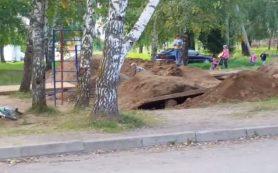 Суровые игры: в Смоленской области дети гуляют в окопах