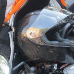 В Рославле подростки на мотоцикле врезались в авто