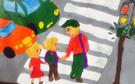 Смоленские школьники «оживили» дорожные знаки и светофоры