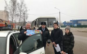 В Смоленской области «Новогодние каникулы» объединили школьников и дорожных полицейских