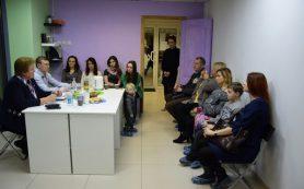 Ольга Окунева встретилась с семьями в центре развития детей