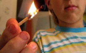 В Смоленске дети подожгли квартиру