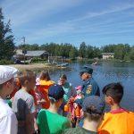 Юных смолян научили правильно вести себя на воде