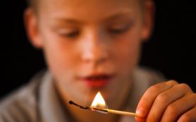 В Смоленской области детская шалость привела к крупному пожару