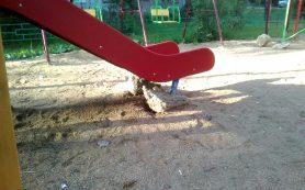 В Смоленске нашли «суровую» детскую площадку