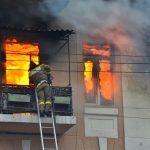 В Смоленской области при пожаре пострадала двухлетняя девочка