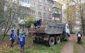 «Единая Россия» расчистила территорию для обустройства парковки у детской поликлиники в Смоленске