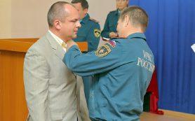 Смолянин, спасший тонущих детей, награжден медалью