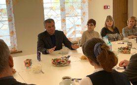 Председатель Госдумы Вячеслав Володин посетил школу-интернат в Смоленской области