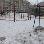 «Детские площадки превратились в сугробы». Активисты ОНФ оценили уборку снега в Смоленске