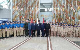 В Минске 28 школьников посвятили в юнармейцы