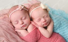 В марте в Смоленске родились три двойни