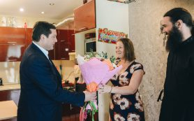 Губернатор Смоленской области побывал в гостях у многодетной семьи Тимофеевых