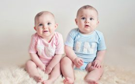 В Смоленске родилось пять двоен