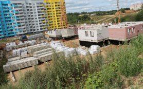 В Смоленске активно строят новый детский сад