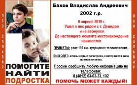 Пропавшему смолянину Владу Бахову сегодня исполнилось 17 лет