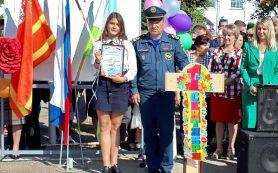 В Смоленской области наградили юную героиню