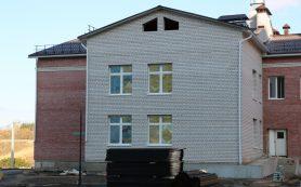 Строительство детского сада в микрорайоне Смоленска близится к завершению