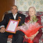 В Смоленской области супруги отметили 70-летие семейной жизни