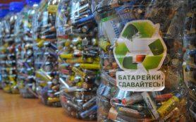 В Смоленске проводятся соревнования среди школ по сбору батареек