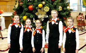 Юные смолянки выступили в Кремле