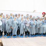 Смоляне побывали на фабрике по изготовлению мороженого