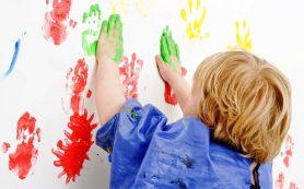 Досуг для малышей — пальчиковые краски