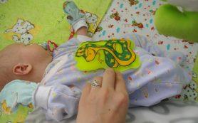 Грелка при коликах у новорожденных